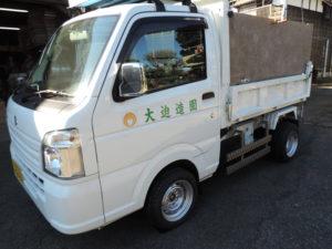 ゴルフ場 軽トラック用 ワイドタイヤ